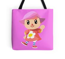 Friendly Female Villager Tote Bag