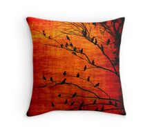 Flamin' Galahs! Throw Pillow