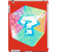 Mario Kart Item Block iPad Case/Skin