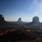 Monument Valley Morning by Allen Gaydos