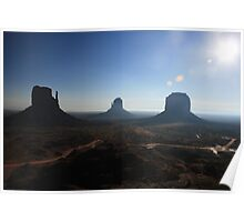 Monument Valley Morning Poster