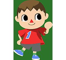Friendly Villager is Friendly Photographic Print