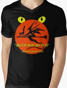 The Salem Defense Mens V-Neck T-Shirt