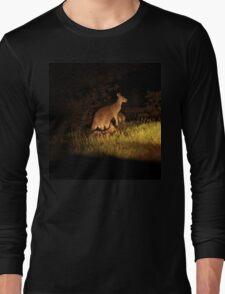 Kangaroo Family Long Sleeve T-Shirt