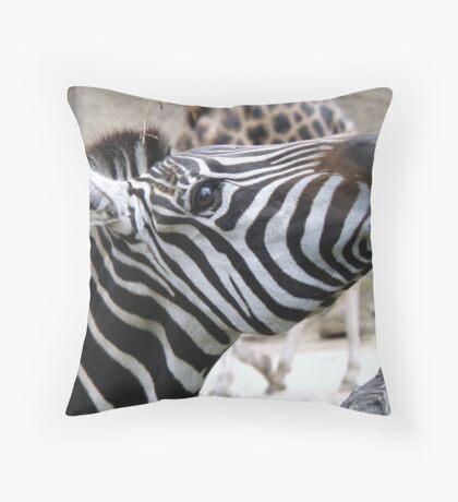 Stripes Luncheon!! Throw Pillow