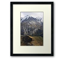 Peaks of Switzerland Framed Print