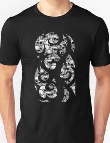 inverted skullz pattern tee T-Shirt