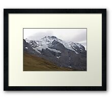 Suisse Mountains Framed Print