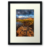 Scenic Layers-Second Look Framed Print