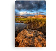 Scenic Layers-Second Look Canvas Print