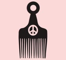Afro Hair Peace Kids Clothes