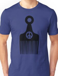 Afro Hair Peace Unisex T-Shirt