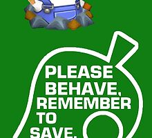 Please Behave, Remember to Save by Connor Keane