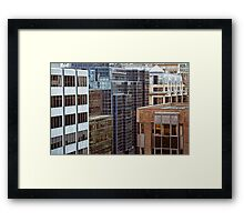 Building Blocks Framed Print