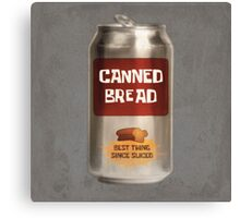 Classic Canned Bread Canvas Print