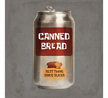 Classic Canned Bread Photographic Print
