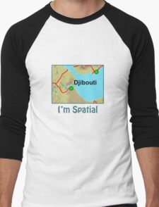 I'm Spatial Men's Baseball ¾ T-Shirt