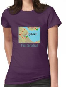 I'm Spatial Womens Fitted T-Shirt
