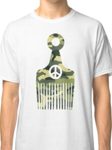 Afro Hair Peace Classic T-Shirt