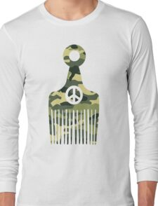 Afro Hair Peace Long Sleeve T-Shirt