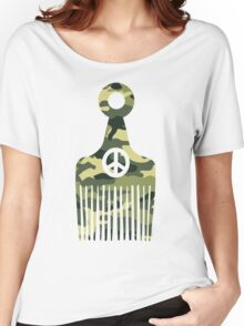 Afro Hair Peace Women's Relaxed Fit T-Shirt