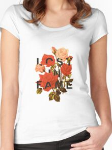 Lost In Fame Women's Fitted Scoop T-Shirt