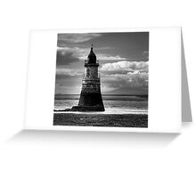 Plover Scar Lighthouse Greeting Card