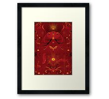 Shaman Heart Space Framed Print