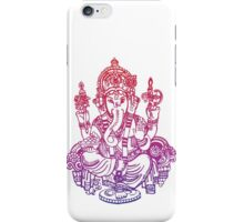 Ombre Indian Ganesh Elephant T-shirt iPhone Case/Skin