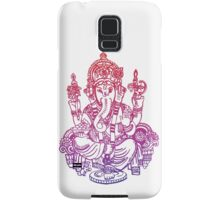 Ombre Indian Ganesh Elephant T-shirt Samsung Galaxy Case/Skin