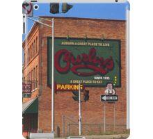 Curley's Restaurant, Auburn, New York iPad Case/Skin