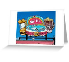 Mr. D'z Greeting Card