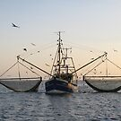 fishing boat by jomaot