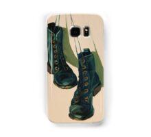 Black Boots Samsung Galaxy Case/Skin