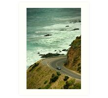Bend,Great Ocean Road Art Print