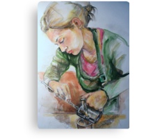 Barrista Canvas Print