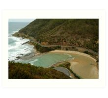 Great Ocean Road,Cherry Tree Creek Art Print