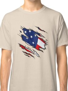 Show Your True Colors: American Flag Classic T-Shirt