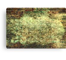 Wired Binary Code edition 6 Canvas Print