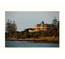 Grand Pacific Hotel,Great Ocean Road,Lorne Art Print