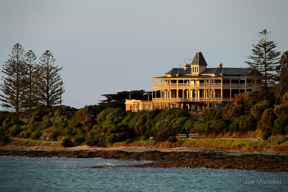 Grand Pacific Hotel,Great Ocean Road,Lorne by Joe Mortelliti