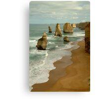 Patterns,Twelve Apostles Great Ocean Rd Canvas Print