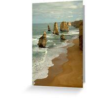 Patterns,Twelve Apostles Great Ocean Rd Greeting Card