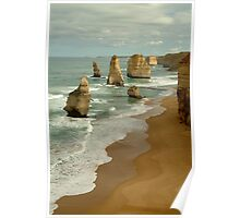 Patterns,Twelve Apostles Great Ocean Rd Poster