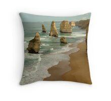 Patterns,Twelve Apostles Great Ocean Rd Throw Pillow