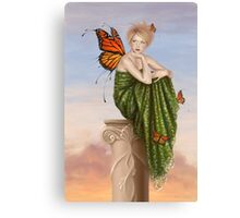 Sunrise Monarch Butterfly Fairy Canvas Print