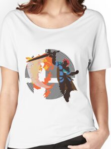 Roy (Smash 4, Blue) - Sunset Shores Women's Relaxed Fit T-Shirt