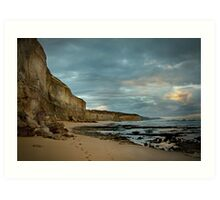 Gibson's Beach,Great Ocean Road Art Print