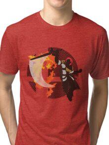 Roy (Smash 4, White & Gold) - Sunset Shores Tri-blend T-Shirt