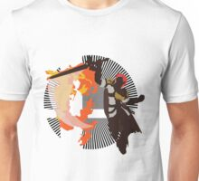 Roy (Smash 4, White & Gold) - Sunset Shores Unisex T-Shirt